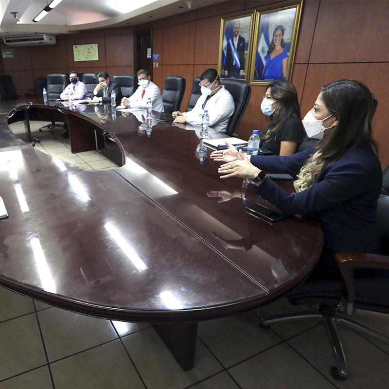 Reunión con representantes UES